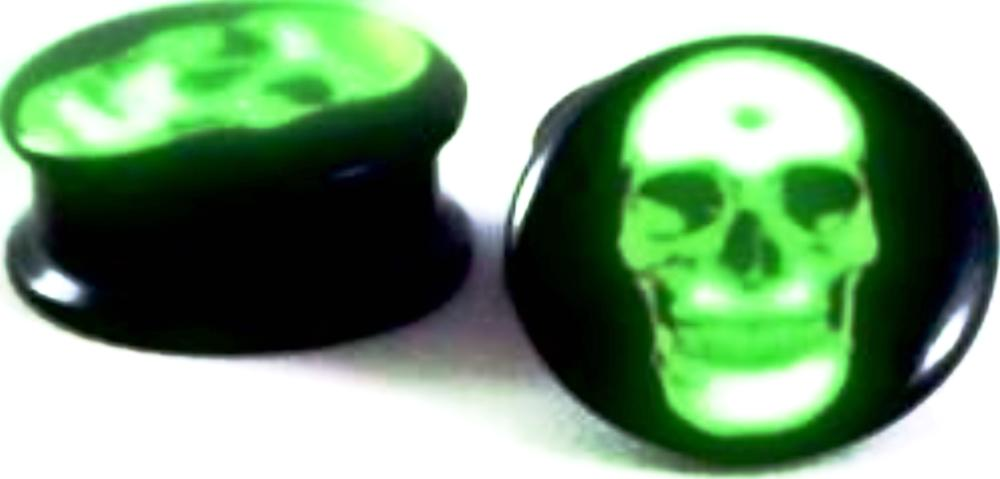 Glow Skelleton Plugs