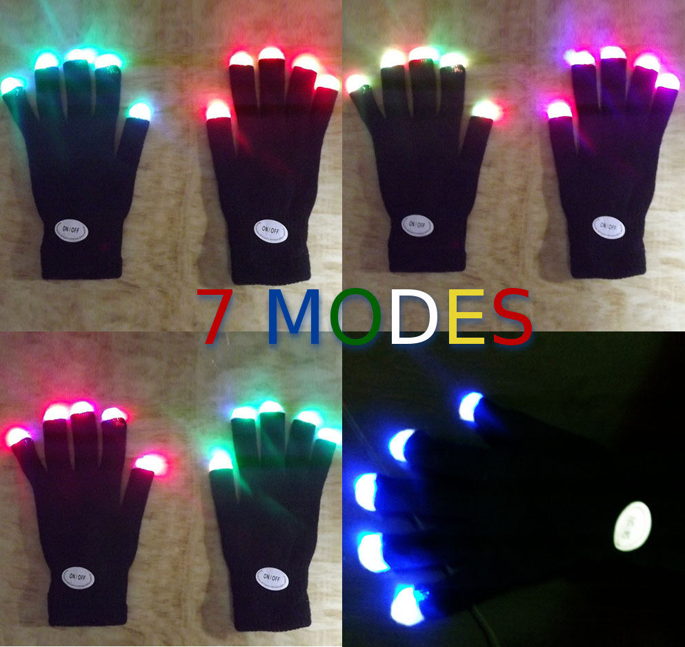LED light gloves