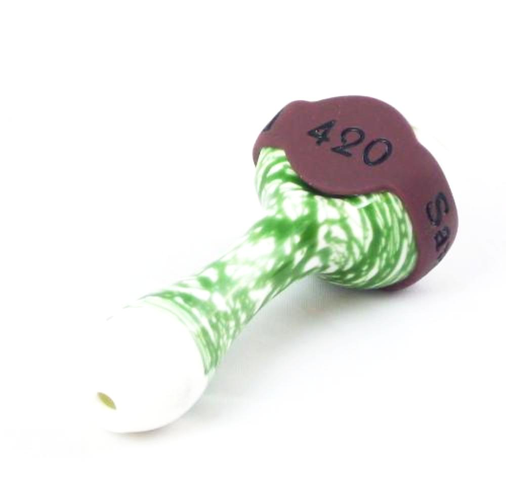 2 x 420 Burgundy Save-A-Bowls for glass pipes