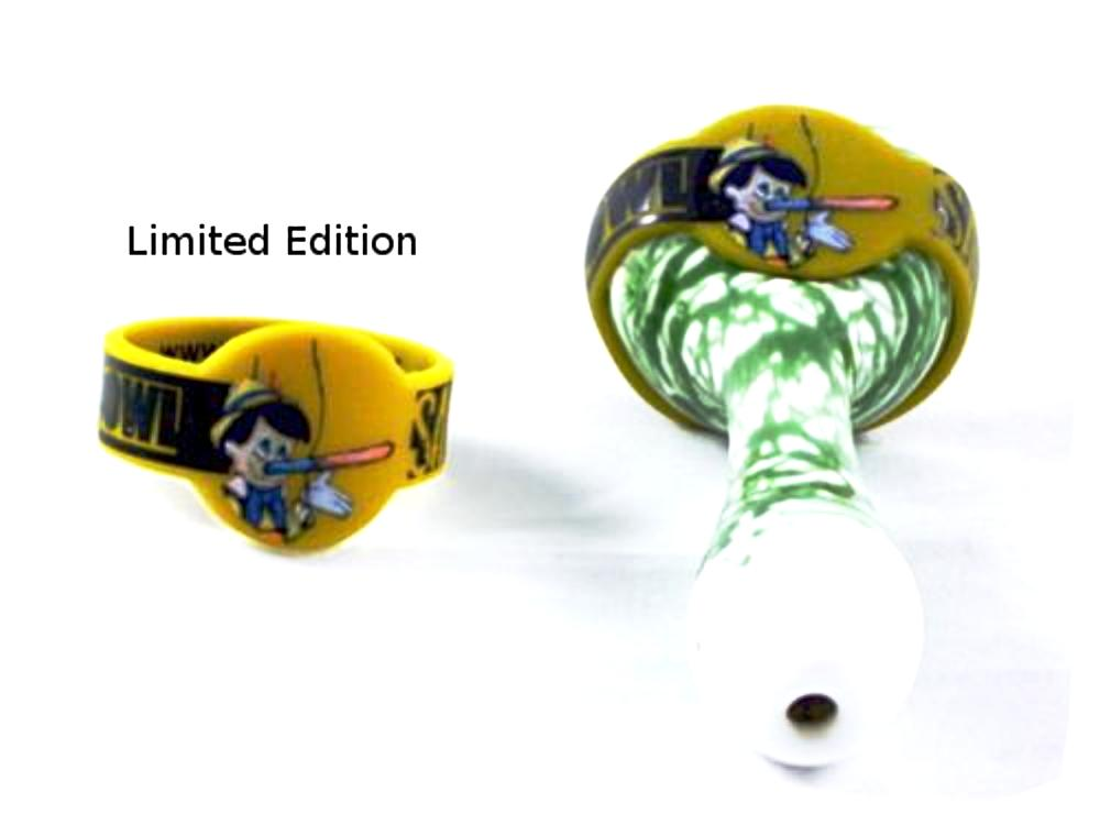 "McGirr Collection ""Pinoc"" bowl Savers for glass pipe"