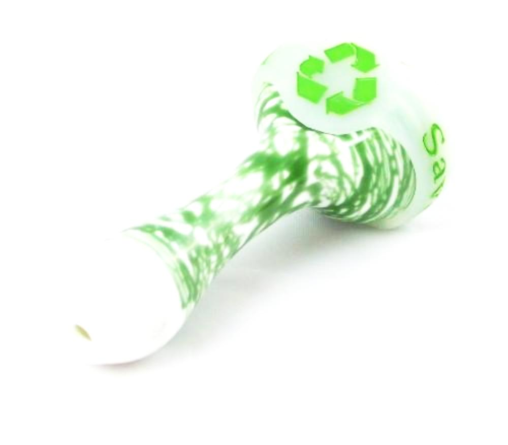 2 Pack Recycle Bowl Savers for Glass Pipes