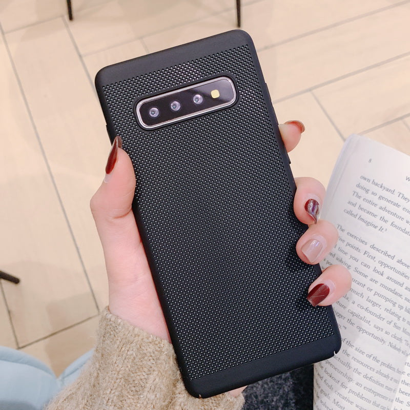 Luxury Carbon Fiber Case For Galaxy S10+