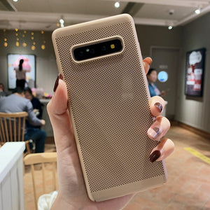 Luxury Carbon Fiber Case For Galaxy S10e