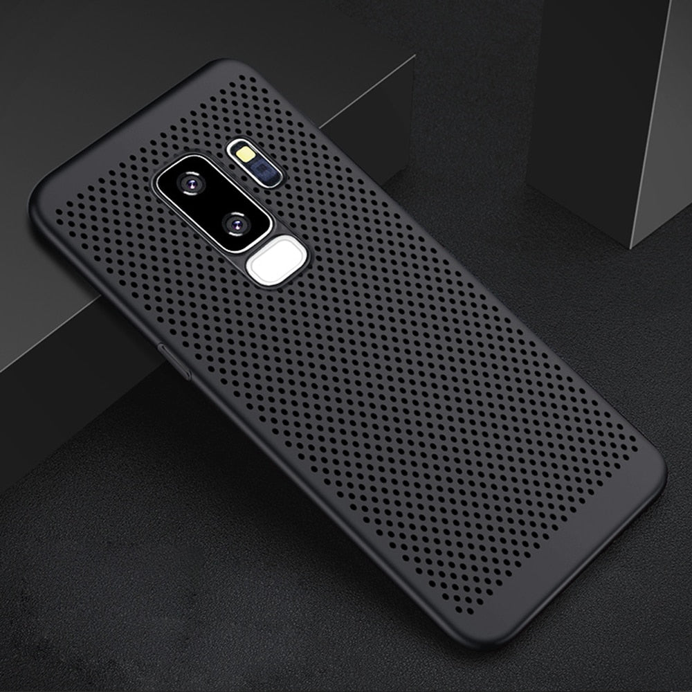 brand new 4f7bc fc160 Carbon Fiber Luxury Case For Galaxy S9 / S9+