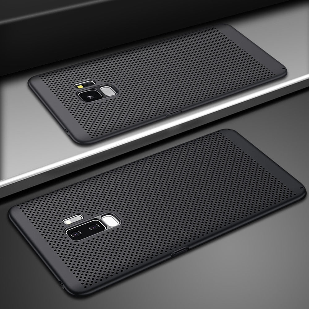 Carbon Fiber Luxury Case For Galaxy S8 / S8+