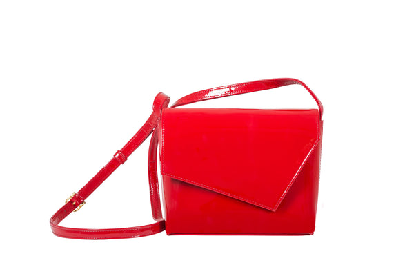 LEXIA - PATENT LEATHER RED
