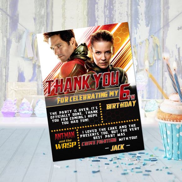 Antman & Wasp Thank You