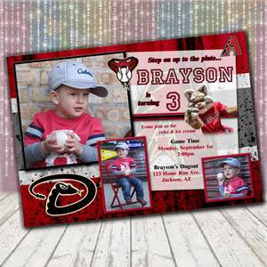 Arizona Diamondbacks Invitation