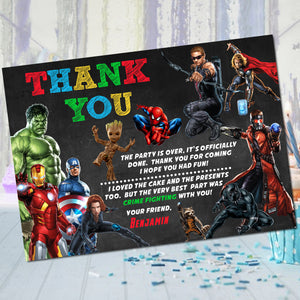 Avengers Thank You