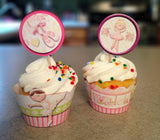 Ballet Cupcake Wrappers