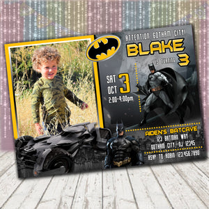Batman Invitation