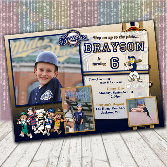 Milwaukee Brewers Invitation