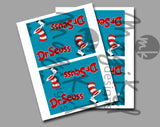 Dr Seuss Toppers