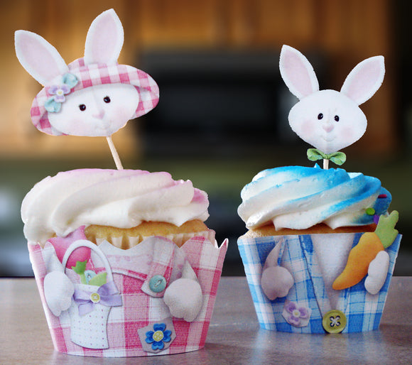 Easter Cupcake Wrappers