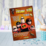 Incredibles Thank You
