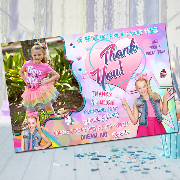 Jojo Siwa Thank You