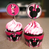 Minnie Mouse Cupcake Wrappers