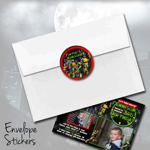 Ninja Turtles Stickers