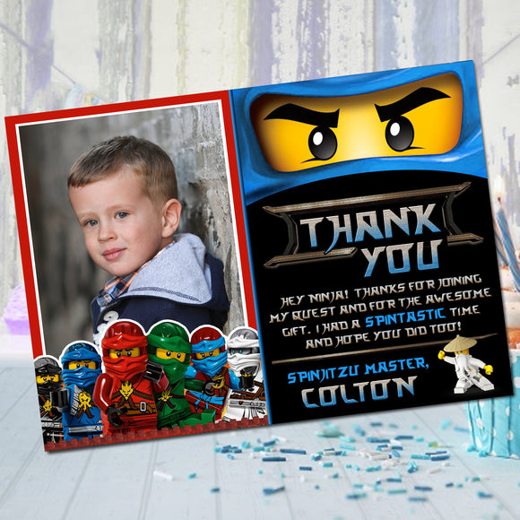 Ninjago Jay Thank You