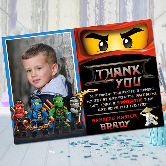 Ninjago Kai Thank You