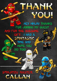 Ninjago Thank You