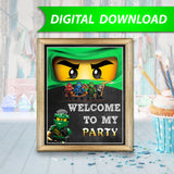 Ninjago Lloyd Sign