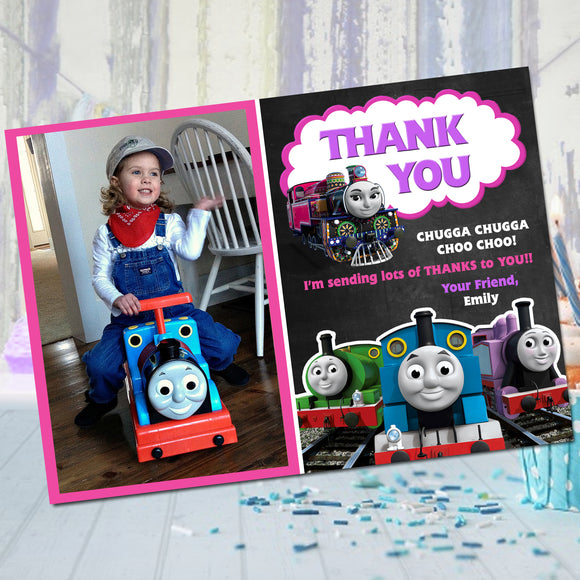 Thomas The Train Ashima Thank You