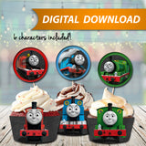 Thomas The Train Cupcake Wrappers