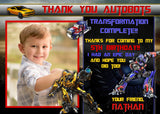 Transformers Thank You