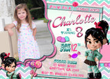 Vanellope Invitation