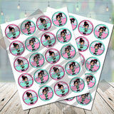 Vanellope Cupcake Toppers