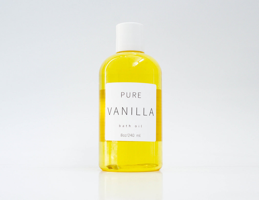 Pure Vanilla Bath and  Body Oil