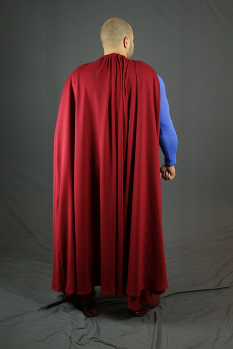 A bigger, BETTER Superman cape
