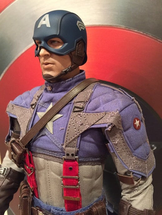By chance: Hot Toys Captain America: The First Avenger