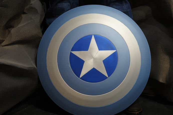 Paint a Captain America Shield; a how-to
