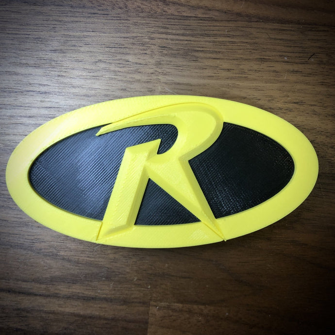 Robin Logo Emblem/Badge and Belt Buckle