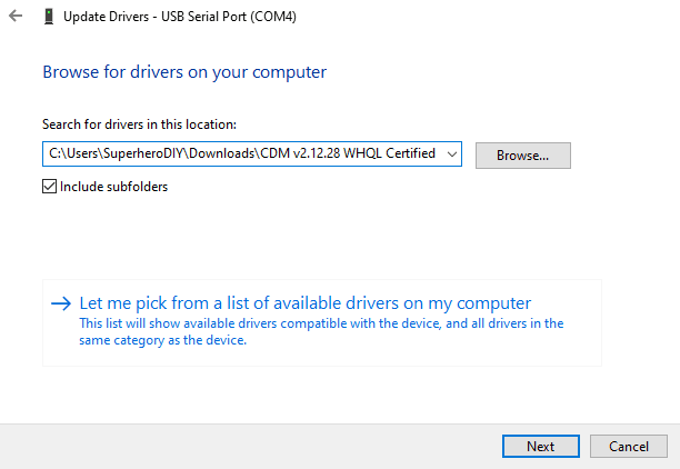 Windows PC can't connect to Creality 3D printer over USB