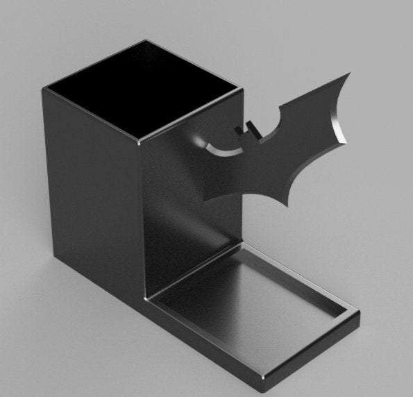 3D-PRINTABLE Batarang Pencil Holder Desk Organizer DIGITAL STL File - SuperheroDIY