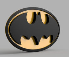 Load image into Gallery viewer, 3D PRINTABLE Batman Cosplay Emblem DIGITAL STL file - SuperheroDIY