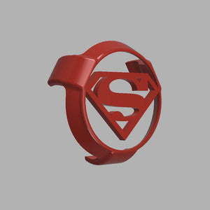 3D PRINTABLE DIGITAL STL File | Superman Google Home Mini Cover - SuperheroDIY