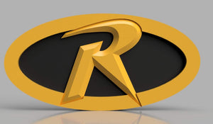 3D-PRINTABLE Robin Logo Belt Buckle STL file - SuperheroDIY