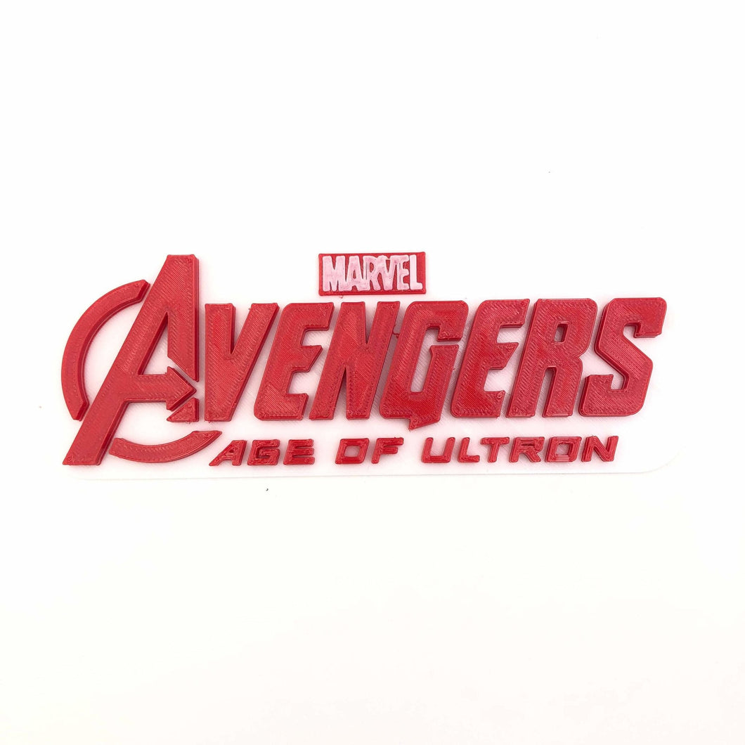 Avengers Age of Ultron AOU 3D Wall Art - SuperheroDIY