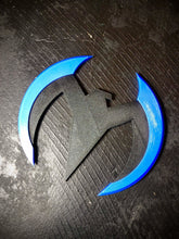 Load image into Gallery viewer, Nightwing Batarang / Wingding / Birdarang | Robin Prop | 3D-printed Plastic Batman Prop - SuperheroDIY