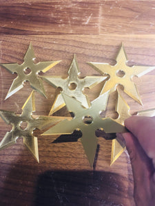 Ninja Throwing Star Shuriken Toy Replica 3D-printed toy (SET OF 6) - SuperheroDIY