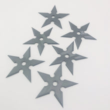 Load image into Gallery viewer, Ninja Throwing Star Shuriken Toy Replica 3D-printed toy (SET OF 6) - SuperheroDIY
