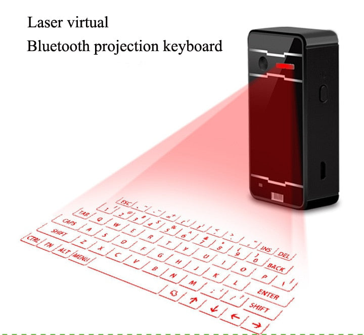Bluetooth Wireless Virtual Projection keyboard Portable for Iphone Android  Smart Phone Ipad Tablet PC Notebook