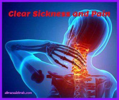Clear Sickness And Pain Mediation Clearing