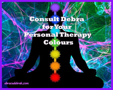 Consult Debra For Your Personal Therapy Colours Live