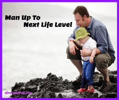 Man Up To Next Life Level Mediation Clearing