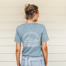 Load image into Gallery viewer, Hive & Harvest Unisex Tee - Faded Slate